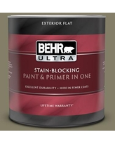 Discover Deals On Behr Ultra 1 Qt Qe 22 Terrazzo Brown Flat Exterior Paint And Primer In One