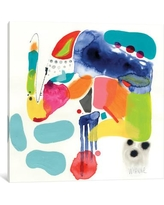 "East Urban Home Pull Toy Painting Print on Wrapped Canvas ESHM7790 Size: 12"" H x 12"" W x 0.75"" D"