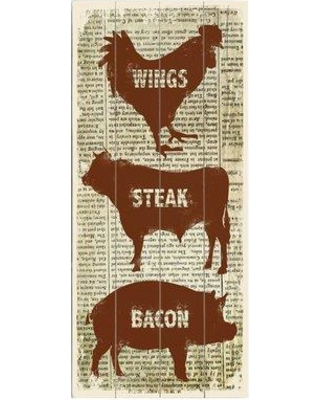 Artehouse LLC Barbeque Graphic Art Print Multi-Piece Image on Wood 0004-4643-27