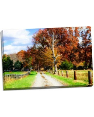 August Grove 'Hopkins Farm' Photographic Print on Wrapped Canvas BF055842