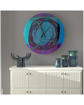 East Urban Home Oversized Abbotstown Wall Clock X112449795 Size: Small