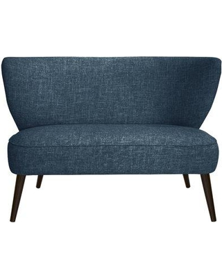 George Oliver Cifuentes Armless Loveseat GOLV4857 Color: Zuma Navy
