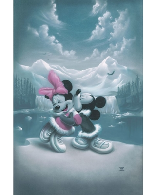 Mickey Mouse and Minnie ''Alaska Adventure'' Limited Edition Gicle by Noah Official shopDisney