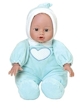 Adora Cuddle Baby 13 inch Doll in Blue Heart Outfit