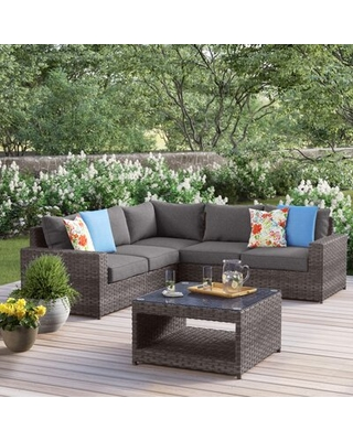 Humnoke 6 Piece Sectional Seating Group with Cushions