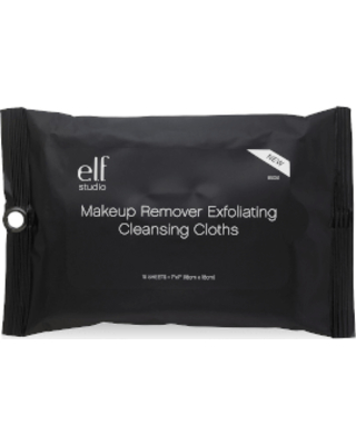 e.l.f. Cosmetics Makeup Remover Exfoliating Cleansing Cloths