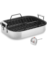 All-Clad Stainless-Steel Nonstick Roaster, Large