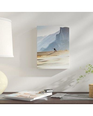"""East Urban Home 'Mid Motion' Photographic Print on Wrapped Canvas BF059744 Size: 10"""" H x 8"""" W x 2"""" D"""