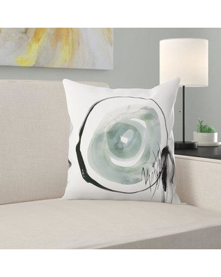 "East Urban Home Perforation Ii Throw Pillow ETRC8691 Size: 16"" H x 16"" W x 1.5"" D"