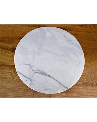 Remarkable Deals On Marble Lazy Susan Turntable Rotating Tray Serving Plate Large Dining Table Centerpiece 20 Inch