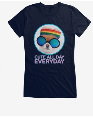 Boo The World's Cutest Dog Cute All Day Everyday Girls T-Shirt