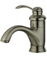 Bellaterra Home Barcelona Deck Bathroom Faucet with Drain Assembly 10118A1-BN Finish: Brushed Nickel