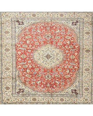 Bloomsbury Market Traditional Gray/Red/Blue Area Rug X112037491 Rug Size: Rectangle 2' x 4'