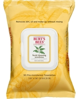Burt's Bees White Tea Extract Facial Cleansing Towelettes - 30 ct