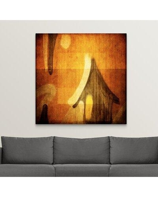 """Ebern Designs 'Houses I' Photographic Print on Canvas X112239885 Size: 48"""" H x 48"""" W x 1.5"""" D"""