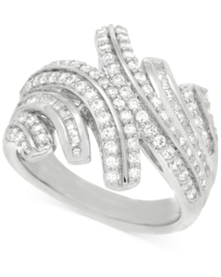 Wrapped in Love Diamond Statement Ring (1 ct. t.w.) in Sterling Silver, Created for Macy's
