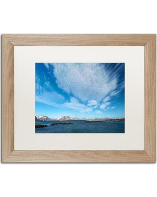 """Trademark Art 'Day Dreaming' Framed Photographic Print PSL0483-T1114MF / PSL0483-T1620MF Size: 16"""" H x 20"""" W x 0.5"""" D"""
