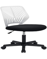 Isabelle & Max™ Seth Teens Mesh Task Chair in White, Size 31.1 H x 16.9 W x 17.7 D in | Wayfair 30BE24254881469AA89D2046588199D3
