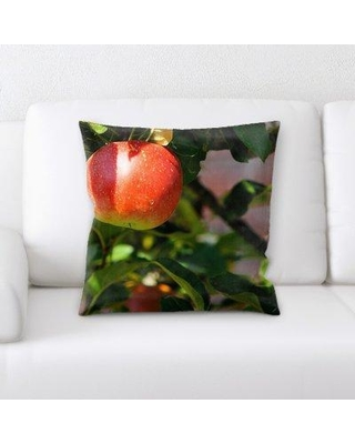 East Urban Home Apple Tree Throw Pillow W000481527