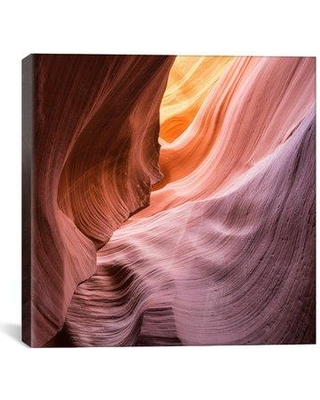 """Latitude Run 'The Lower Wave III' Photographic Print on Wrapped Canvas LATT5187 Size: 27"""" H x 27"""" W x 1.5"""" D"""