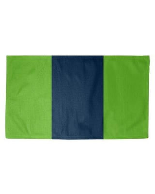 East Urban Home Seattle Football Green Area Rug FCJK9499 Rug Size: Rectangle 3' x 5' Backing: Yes