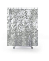 Ebern Designs Akwete Floral Single Shower Curtain X114493357