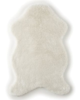 Levtex Baby® Heritage Faux Fur Throw in Cream