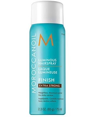 Moroccanoil Luminous Hairspray Extra Strong, Travel Size