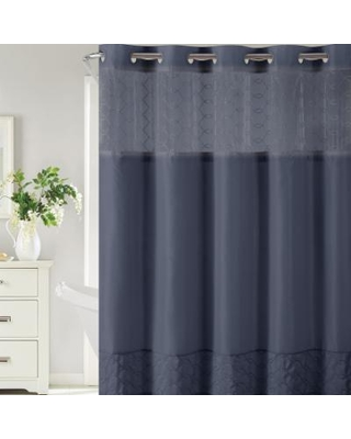 Check Out These Major Deals On Hookless Downtown Soho Shower Curtain