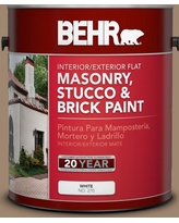 Get This Deal On Behr 1 Gal 700d 6 Belgian Sweet Flat Interior Exterior Masonry Stucco And Brick Paint