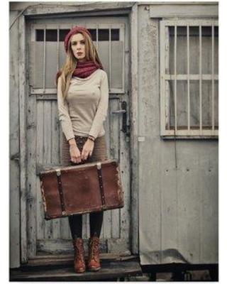 """Trademark Fine Art 'Back Suitcase' Photographic Print on Wrapped Canvas 1X05688-CGG Size: 19"""" H x 14"""" W x 2"""" D"""