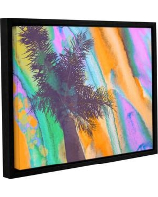 "Latitude Run California Sunset 2 Framed Painting Print on Wrapped Canvas LTRN5155 Size: 18"" H x 24"" W x 2"" D"