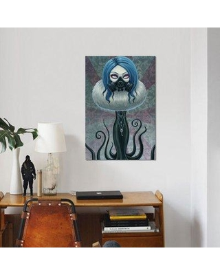 """East Urban Home 'Ophelia' Graphic Art Print on Canvas ESUI1824 Size: 40"""" H x 26"""" W x 0.75"""" D"""