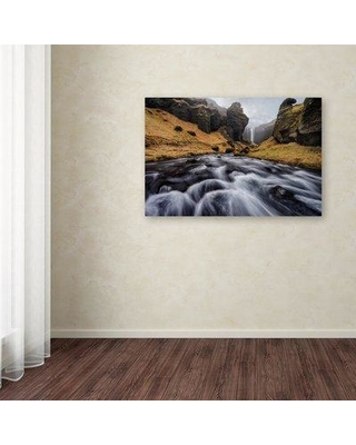 "Trademark Fine Art 'The Hidden Gem' Photographic Print on Wrapped Canvas 1X01356-C Size: 22"" H x 32"" W"