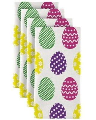 """Fun Easter Eggs 18"""" Napkins Fabric Textile Products, Inc."""