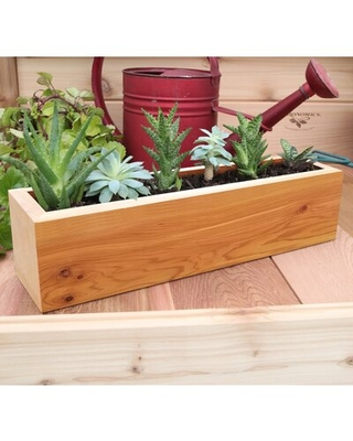 Check Out Deals On Carls Wood Planter Box Wrought Studioâ