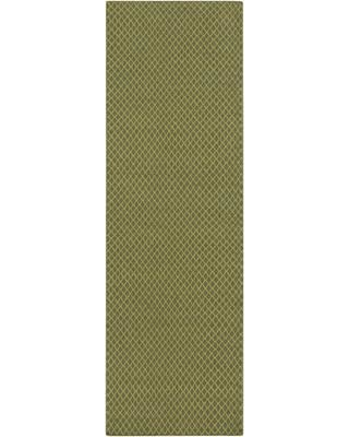 """Union Rustic Walton Hand-Woven Wool Limee Area Rug UNRS2496 Rug Size: Runner 2'6"""" x 8'"""