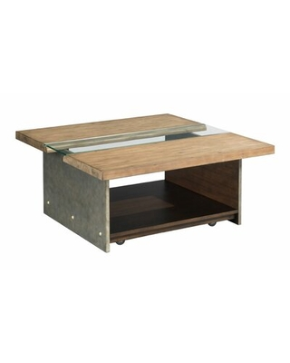 Emrich Coffee Table with Storage Union Rustic