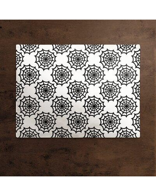 """The Holiday Aisle Elicia Spiderweb 14.5"""" Placemat W001462831"""