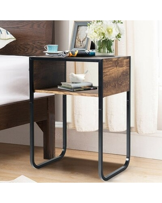 Amazing Sales On Morningside Drive Sled End Table With Storage 17 Stories