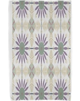 East Urban Home Geometric Beach Towel ESTW5586 Color: Green