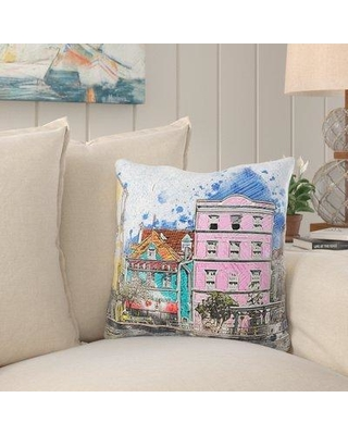 Breakwater Bay Phair Boats Throw Pillow W000359201 Cover Material: Microsuede Location: Indoor