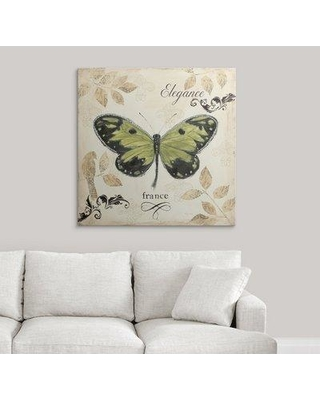 """Great Big Canvas 'Natures Gem IV' by Emily Adams Graphic Art Print 2153470_1 Size: 35"""" H x 35"""" W x 1.5"""" D Format: Canvas"""