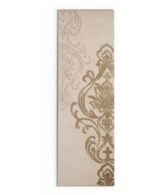 """Silver Orchid Granada Hand-tufted New Zealand Wool Area Rug - 2'6"""" x 8' Runner (2'6"""" x 8' Runner - Ivory/Beige)"""
