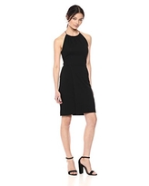 French Connection Women's Strappy Back Jersey Dress, Black, 8