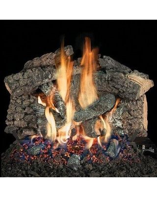 Shopping Special For Hargrovegaslogs Bedford Char Vented Natural Gas Propane Fireplace Log Set Fuel Type Natural Gas Size 15 L Wayfair