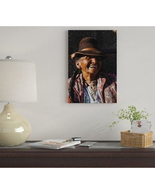 "East Urban Home 'Peruvian Merchant' by Luke Anthony Gram Graphic Art Print on Wrapped Canvas EUME4521 Size: 12"" H x 8"" W x 0.75"" D"