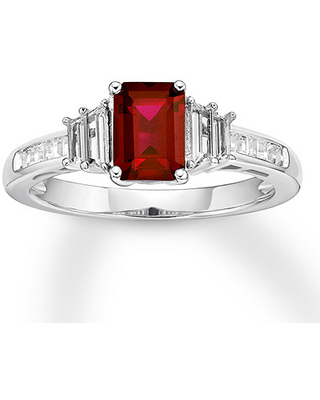 be509113d Score Big Savings on Lab-Created Ruby Ring Lab-Created Sapphires 10K ...