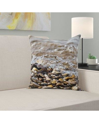 East Urban Home Water Throw Pillow W000423365