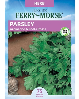 Ferry-Morse 500 Milligram(s) Parsley Aromatico A Costa Rossa Herb (Seed Packet)   468042.199.906186